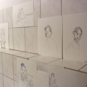 Zeichnungen 2015 von Jenni Tietze