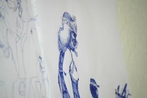 Ausschnitt: Wandbild J. T.