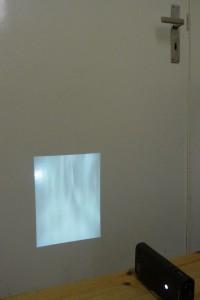 Projektion von Sabine Höpfner