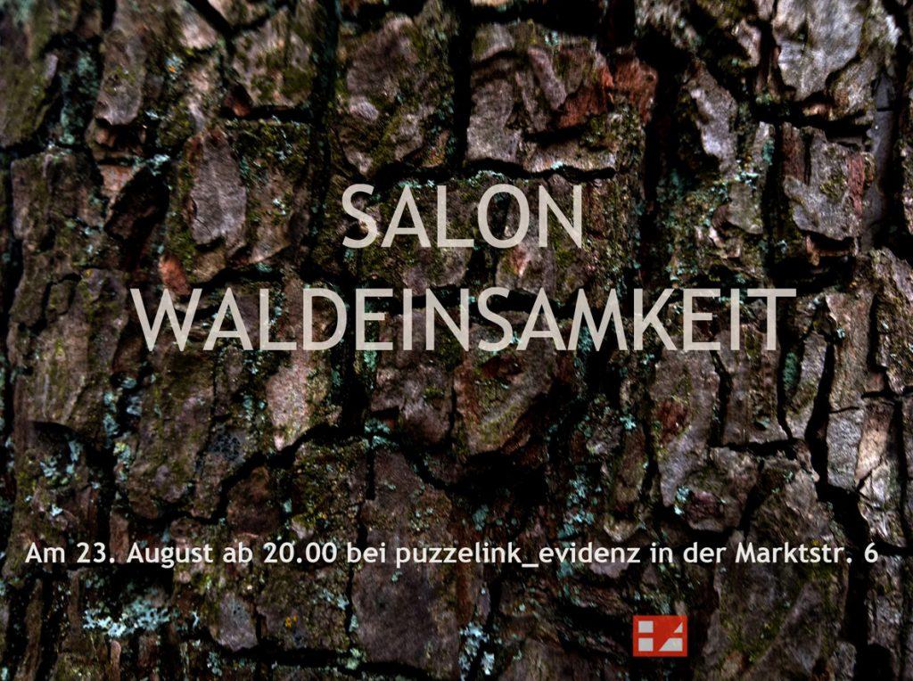Waldeinsamkeit Salon der Hamburger Künstlerin EVA im August 2019