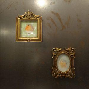 Enthüllung zweier Porträts