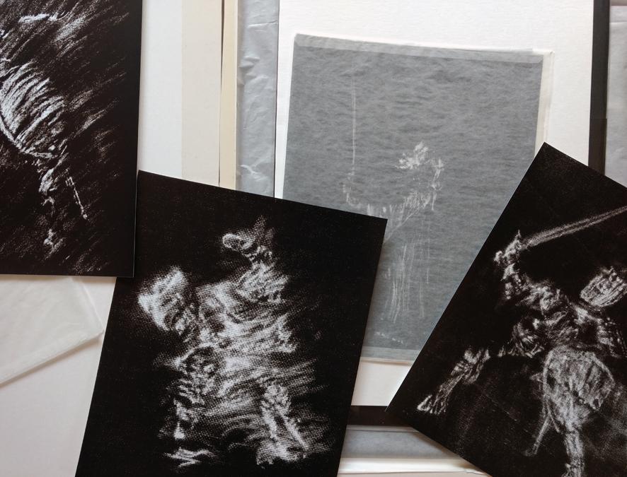 Eine Auswahl von Ritterfotos der Hamburger Künstlerin EVA